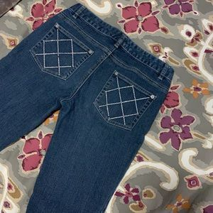 Skinny Jeans, Size 6, medium wash